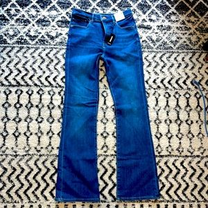 NWT Express High Rise Boot Jeans